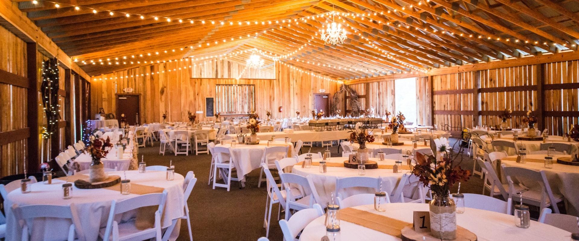 Wedding reception space rental